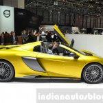 McLaren 675LT Spider side at 2016 Geneva Motor Show