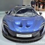 McLaren P1 Carbon Fibre front at 2016 Geneva Motor Show