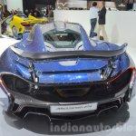 McLaren P1 Carbon Fibre rear at 2016 Geneva Motor Show