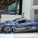 McLaren P1 Carbon Fibre side at 2016 Geneva Motor Show