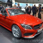 Mercedes-AMG C43 Cabriolet front three quarters at the 2016 Geneva Motor Show