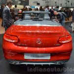 Mercedes-AMG C43 Cabriolet rear at the 2016 Geneva Motor Show