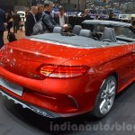 Mercedes-AMG C43 Cabriolet rear three quarters at the 2016 Geneva Motor Show