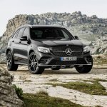 Mercedes-AMG GLC 43 4MATIC front three quarters