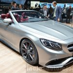 Mercedes-AMG S63 Cabriolet Edition 130 front three quarters