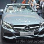 Mercedes C-Class Cabriolet at the 2016 Geneva Motor Show