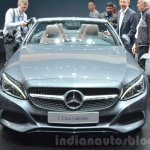 Mercedes C-Class Cabriolet front at the 2016 Geneva Motor Show