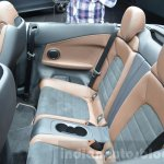 Mercedes C-Class Cabriolet rear seat at the 2016 Geneva Motor Show