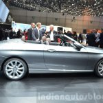 Mercedes C-Class Cabriolet side at the 2016 Geneva Motor Show