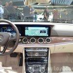 Mercedes E-Class E 350e dashboard at the 2016 Geneva Motor Show