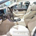 Mercedes E-Class E 350e front seats at the 2016 Geneva Motor Show