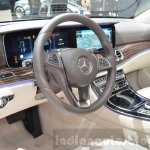 Mercedes E-Class E 350e interior at the 2016 Geneva Motor Show
