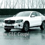 Mercedes GLC Coupe front three quarters teaser
