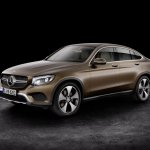 Mercedes GLC Coupe front three quarters