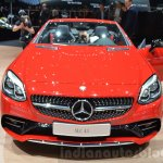 Mercedes SLC 43 AMG front at the 2016 Geneva Motor Show