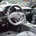 Mercedes SLC 43 AMG interior at the 2016 Geneva Motor Show