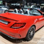 Mercedes SLC 43 AMG rear three quarters at the 2016 Geneva Motor Show
