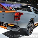 Mitsubishi L200 GEOSEEK Concept rear three quarters at the Geneva Motor Show 2016