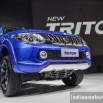 Mitsubishi Triton Limited Edition front quarter at 2016 BIMS