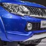 Mitsubishi Triton Limited Edition grille at 2016 BIMS