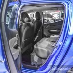 Mitsubishi Triton Limited Edition rear seat at 2016 BIMS