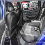 Mitsubishi Triton Limited Edition rear seats at 2016 BIMS