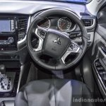 Mitsubishi Triton Limited Edition steering at 2016 BIMS