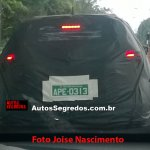 Nissan Kicks production verion rear spy shot