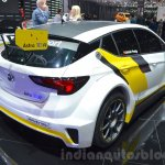 Opel Astra TCR rear three quarter at the 2016 Geneva Motor Show