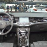 Opel Astra dashboard at the 2016 Geneva Motor Show