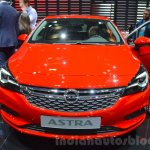 Opel Astra front at the 2016 Geneva Motor Show
