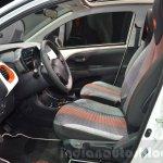 Peugeot 108 Roland Garros front seats