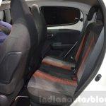 Peugeot 108 Roland Garros rear seat