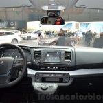 Peugeot Traveller dashboard at 2016 Geneva Motor Show