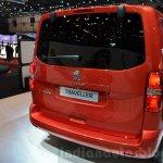 Peugeot Traveller rear quarter at 2016 Geneva Motor Show