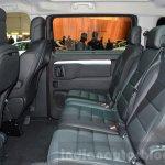 Peugeot Traveller rear seats at 2016 Geneva Motor Show