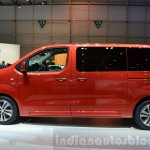 Peugeot Traveller side at 2016 Geneva Motor Show