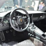 Porsche 911 R dashboard at the 2016 Geneva Motor Show