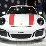 Porsche 911 R front at the 2016 Geneva Motor Show