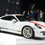 Porsche 911 R front three quarter at the 2016 Geneva Motor Show