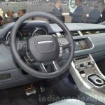 Range Rover Evoque Convertible dashboard at the 2016 Geneva Motor Show