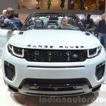 Range Rover Evoque Convertible front at the 2016 Geneva Motor Show