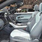 Range Rover Evoque Convertible front seats at the 2016 Geneva Motor Show