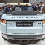 Range Rover Evoque Convertible rear at the 2016 Geneva Motor Show
