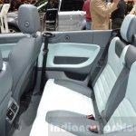 Range Rover Evoque Convertible rear seat at the 2016 Geneva Motor Show