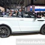 Range Rover Evoque Convertible side at the 2016 Geneva Motor Show