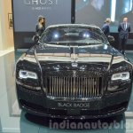 Rolls Royce Ghost Black Badge Edition front at 2016 Geneva Motor Show