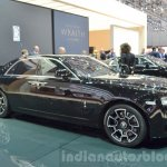 Rolls Royce Ghost Black Badge Edition front quarter at 2016 Geneva Motor Show
