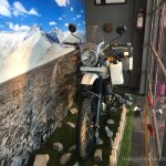 Royal Enfield Himalayan front quarter arrives at dealerships