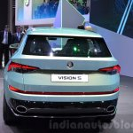 Skoda VisionS SUV concept  at the 2016 Geneva Motor Show